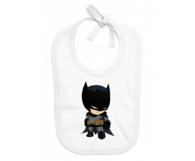 Bavoir bébé personnalisé Batman kids logo