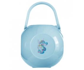 Boîte à tétine My Little Pony Princesse Célestia design-3 avec prénom