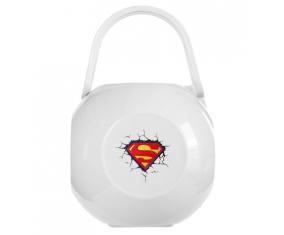 Boîte à tétine Logo Superman casse le mur
