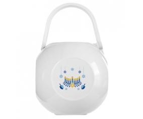 Boîte à tétine Judaisme : Hanoukkia design-2