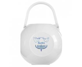 Boîte à tétine Judaisme : Hanoukkia design-4