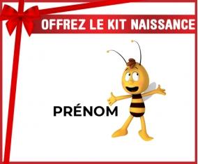 kit naissance bébé personnalisé Willy l'abeille avec prénom