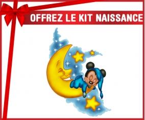 kit naissance bébé personnalisé Disney Mickey Bonne nuit