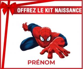 kit naissance bébé personnalisé Spiderman design-2 avec prénom