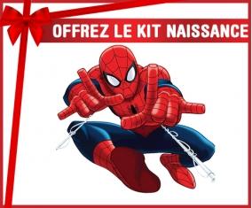 kit naissance bébé personnalisé Spiderman design-3 avec prénom