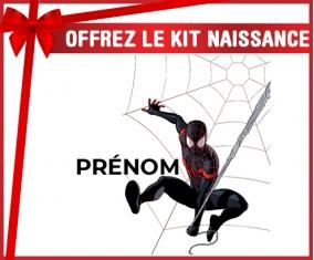 kit naissance bébé personnalisé Spiderman design-4 avec prénom