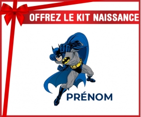 kit naissance bébé personnalisé Batman design-2