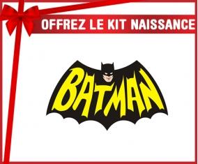 kit naissance bébé personnalisé Batman logo design-3