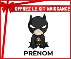 kit naissance bébé personnalisé Batman kids logo design-2 avec prénom