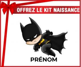 kit naissance bébé personnalisé Batman kids logo design-4 avec prénom