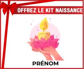 kit naissance bébé personnalisé Happy vesak day avec prénom