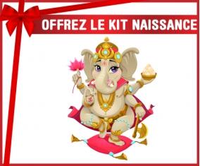 kit naissance bébé personnalisé Hindouisme Ganesha