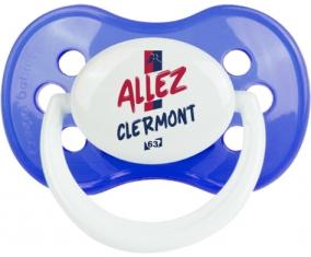 Clermont Foot : Sucette Anatomique personnalisée
