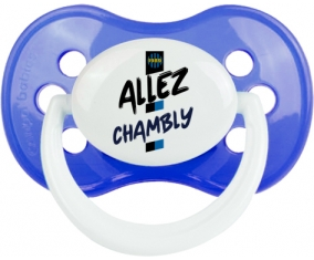 Tetine FC Chambly embout Anatomique personnalisée