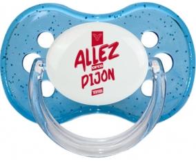 Tetine Dijon Football Côte-d'Or embout Cerise personnalisée