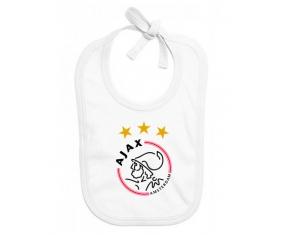 Bavoir bébé personnalisé Ajax Amsterdam