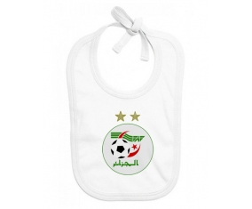 Bavoir bébé personnalisé Algeria national football team