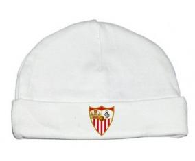 Bonnet bébé personnalisé Séville Fútbol Club