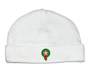 Bonnet bébé personnalisé Morocco national football team