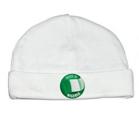 Bonnet bébé personnalisé Made in NIGERIA