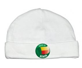 Bonnet bébé personnalisé Made in BENIN