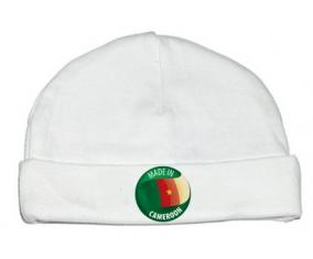 Bonnet bébé personnalisé Made in CAMEROON