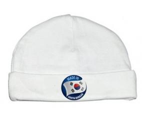 Bonnet bébé personnalisé Made in SOUTH KOREAN