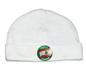 Bonnet bébé personnalisé Made in LEBANON