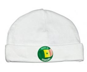 Bonnet bébé personnalisé Made in SENEGAL