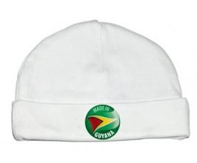 Bonnet bébé personnalisé Made in GUYANA