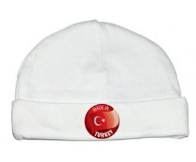 Bonnet bébé personnalisé Made in TURKEY