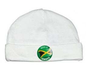 Bonnet bébé personnalisé Made in JAMAICA