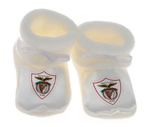 Chausson bébé Clube Desportivo Santa Clara de couleur Blanc