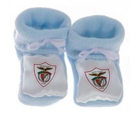Chausson bébé Clube Desportivo Santa Clara de couleur Bleu