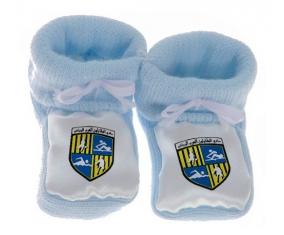 Chausson bébé Arab Contractors Sporting Club de couleur Bleu