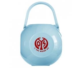 Boîte à tétine FSV Mayence 05 de couleur Bleue