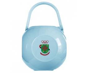 Boîte à tétine Futebol Clube Paços de Ferreira de couleur Bleue