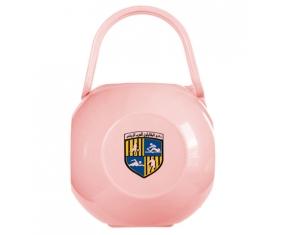 Boîte à tétine Arab Contractors Sporting Club de couleur Rose