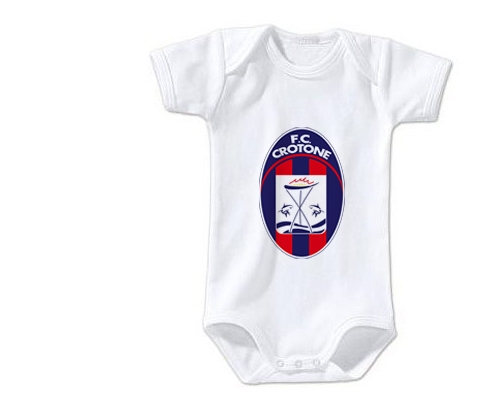Body bébé Football Club Crotone taille 3/6 mois manches Courtes