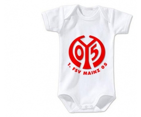 Body bébé FSV Mayence 05 taille 3/6 mois manches Courtes