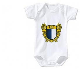 Body bébé Futebol Clube Famalicão taille 3/6 mois manches Courtes