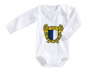 Body bébé Futebol Clube Famalicão taille 3/6 mois manches Longues