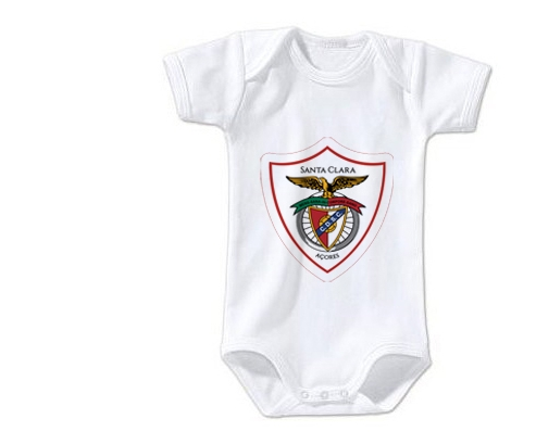 Body bébé Clube Desportivo Santa Clara taille 3/6 mois manches Courtes