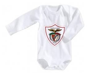Body bébé Clube Desportivo Santa Clara taille 3/6 mois manches Longues