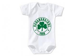 Body bébé PAO Panathinaïkós taille 3/6 mois manches Courtes
