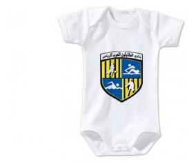 Body bébé Arab Contractors Sporting Club taille 3/6 mois manches Courtes