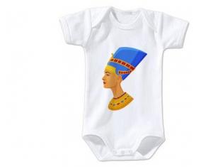 Body bébé Néfertiti taille 3/6 mois manches Courtes
