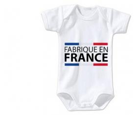 Body bébé Fabriqué en France taille 3/6 mois manches Courtes
