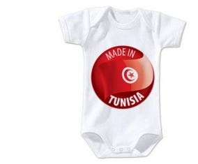 Body bébé Made in TUNISIA taille 3/6 mois manches Courtes