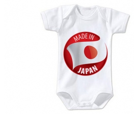 Body bébé Made in JAPAN taille 3/6 mois manches Courtes